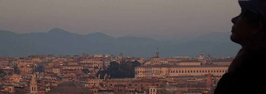 Rome sustainable view from Janiculum